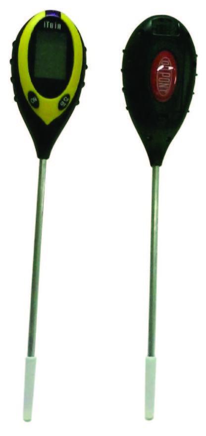 Электронный измеритель pH, измеритель влажности, измеритель температуры и освещенности почвы